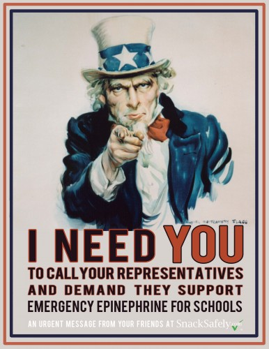Uncle Sam needs you to join the fight! Click here for a letter-sized flyer!