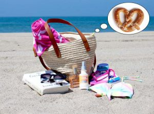 pretzel - beach bag