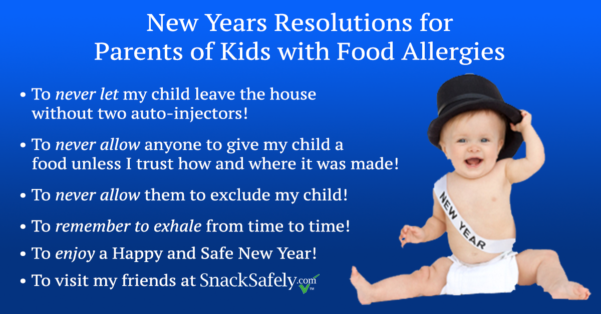 New Year's Resolutions for Parents of Kids with Food ...