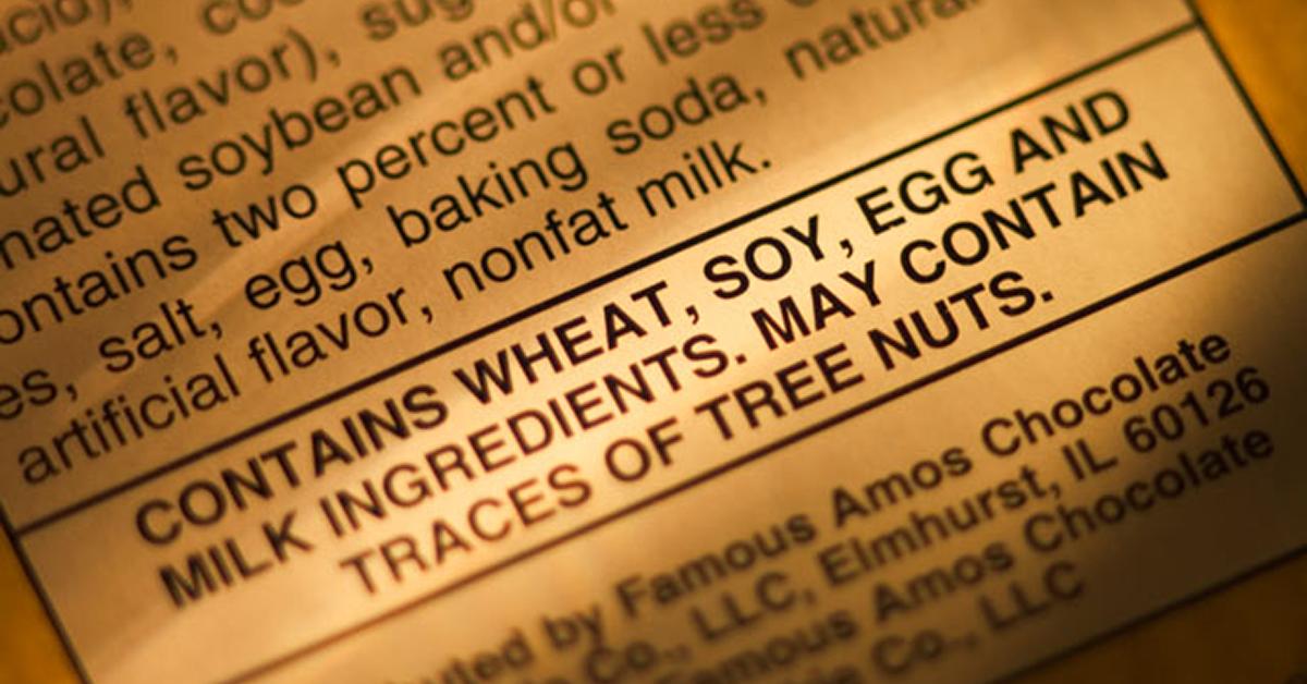 Allergen Labeling