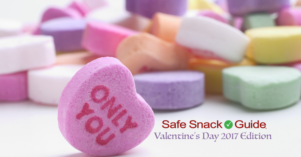 It's Here! The 2017 Valentine's Edition of the Safe Snack Guide ...