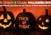 The Safe Snack Guide Halloween Edition!