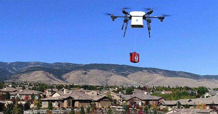 Flirtey AED Drone