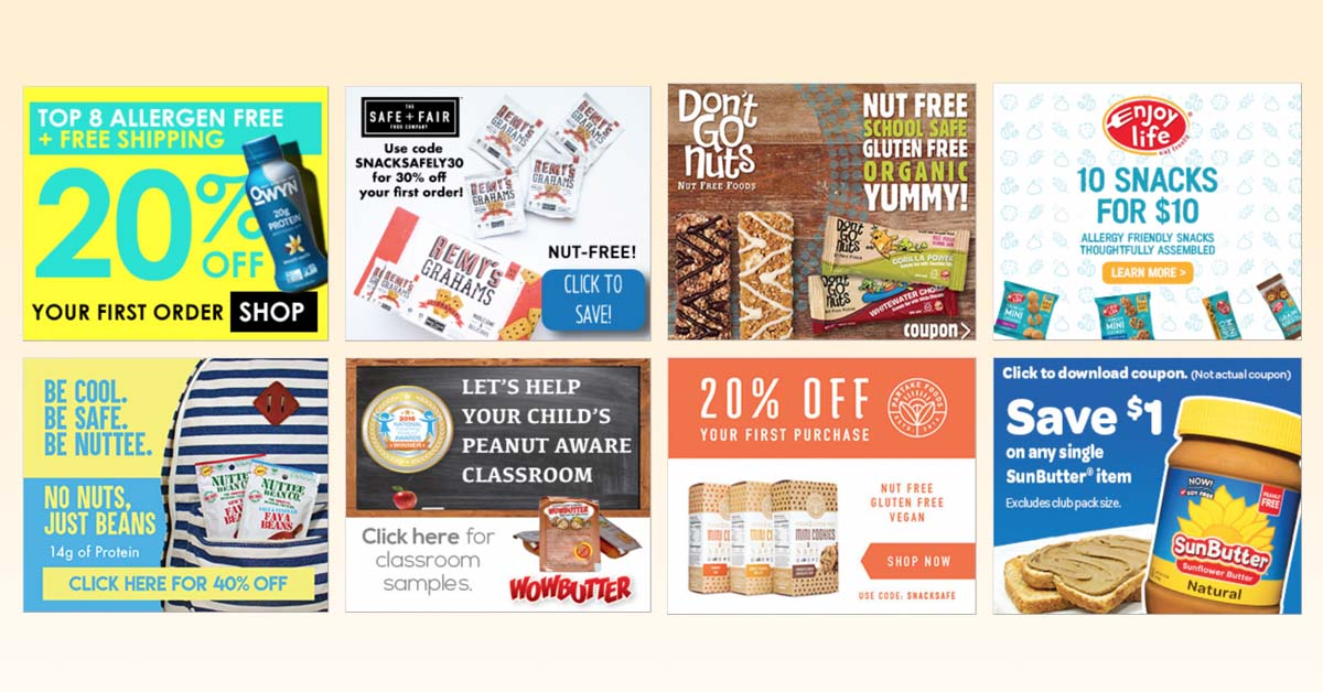 Coupons Page Huge Discounts On Your Favorite Free From Products Snacksafely Com