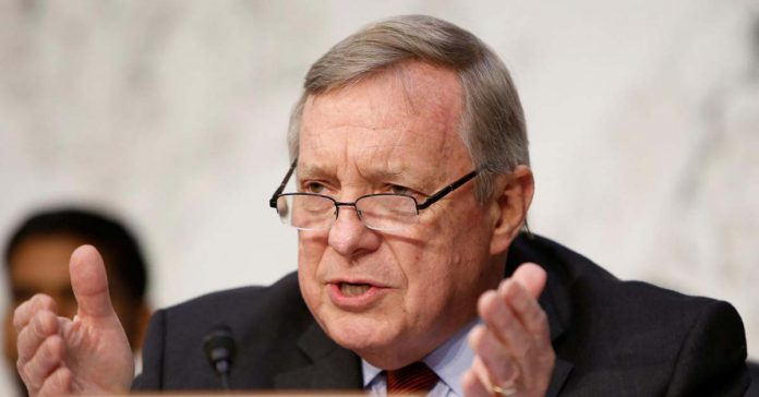 US Senator Dick Durbin