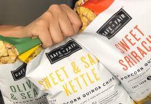 SAFE + FAIR Enters the Gluten Free Snack World with New Popcorn Quinoa Chips!