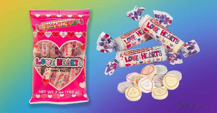 Smarties Love Hearts