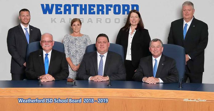 Weatherford TX ISD Board of Trustees