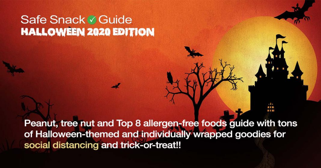 Halloween 2020 Edition of the Safe Snack Guide!